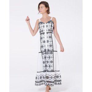 NWT Veronica Beard Sasha Embroidered Midi Dress 2